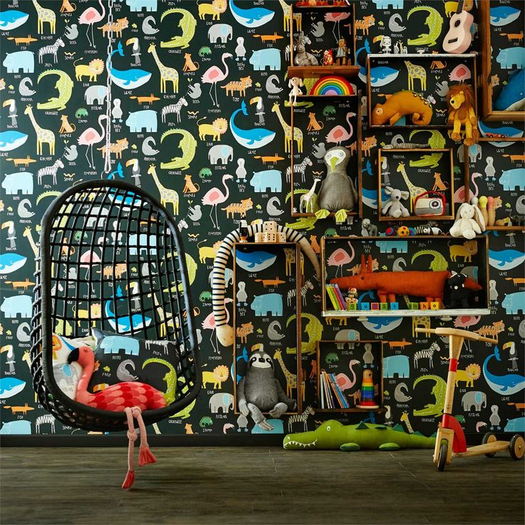Products | Scion - Fashion-led, Stylish and Modern Fabrics and Wallpapers | Animal Magic (NSCK111288) | Guess Who? Wallpapers