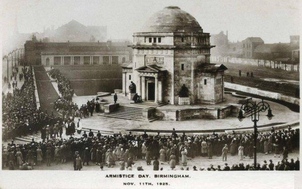 Armistice Day, Birmingham - November 11th 1925