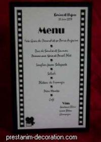 1000 id es propos de th me hollywood sur pinterest for Idee menu anniversaire de mariage