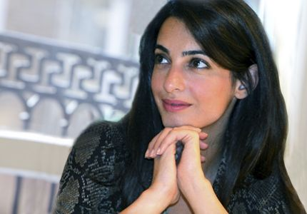 Amal is a British attorney. She and George started dating in October 2013 and became engaged in April 2014.