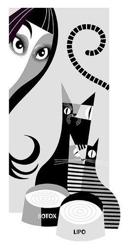 """Cher"" [Graphic Design Illustration] (Caricature) by Pablo Lobato (Dunway Enterprises) http://dunway.us"