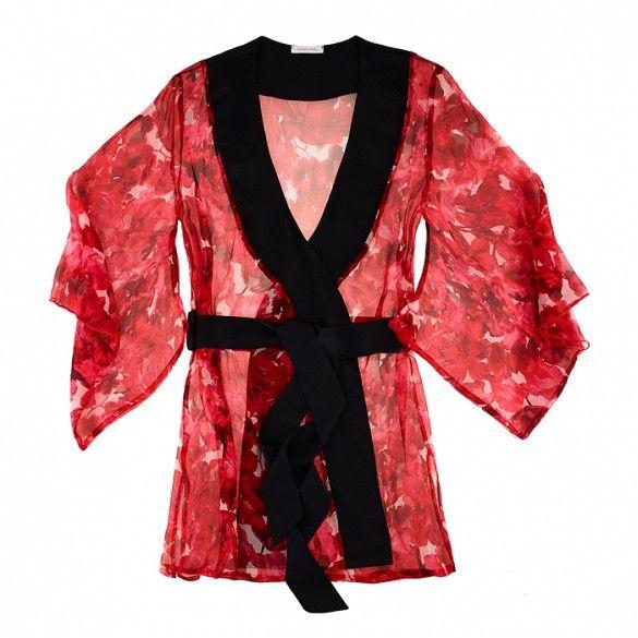 Samantha Chang Yukata Robe // red robe