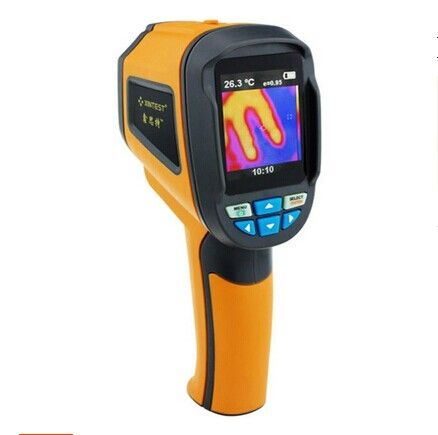 (223.53$)  Watch now - http://aiv6v.worlditems.win/all/product.php?id=32592975573 - Professional Handheld Thermal Imaging Camera Portable Infrared Thermometer IR Thermal Imager Infrared Imaging Device