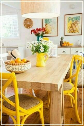 find this pin and more on my kitchen by issamai - Yellow Kitchen Decorating Ideas