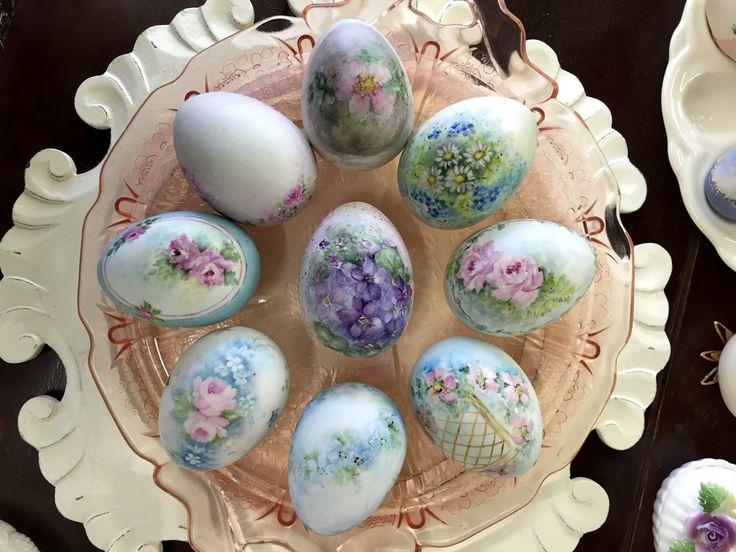 Porcelain Eastern Eggs