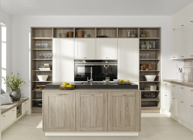 Nolte Kitchens Kansas Oak And White. Photo Gallery