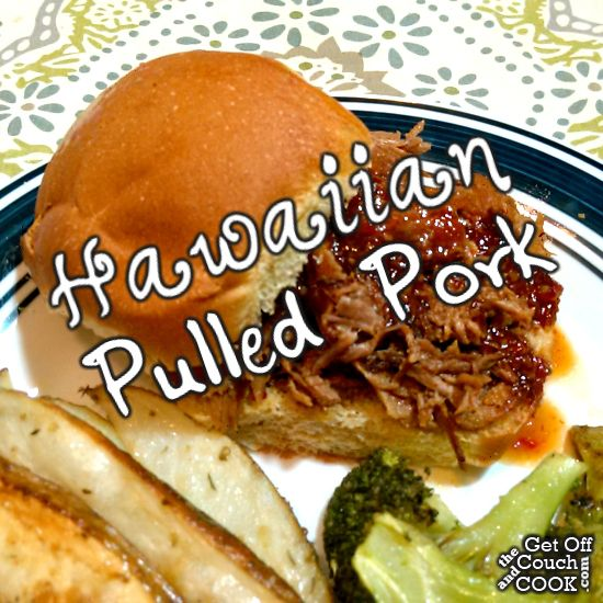 Hawaiian Pulled Pork - Another delicious pulled pork recipe but this time it's cooked with slightly tropical flavors and topped with a sweet & spicy sauce!