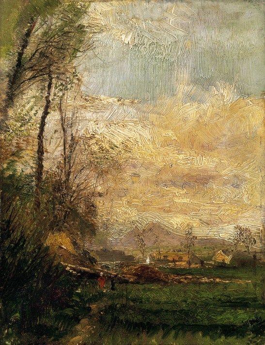Laszlo Mednyanszky (Hungarian, 1852-1919) ~ Early Spring. #art, #paintings tumblr_m5ie9wEQLF1qh7jlwo1_1280.jpg 547×712 pixels