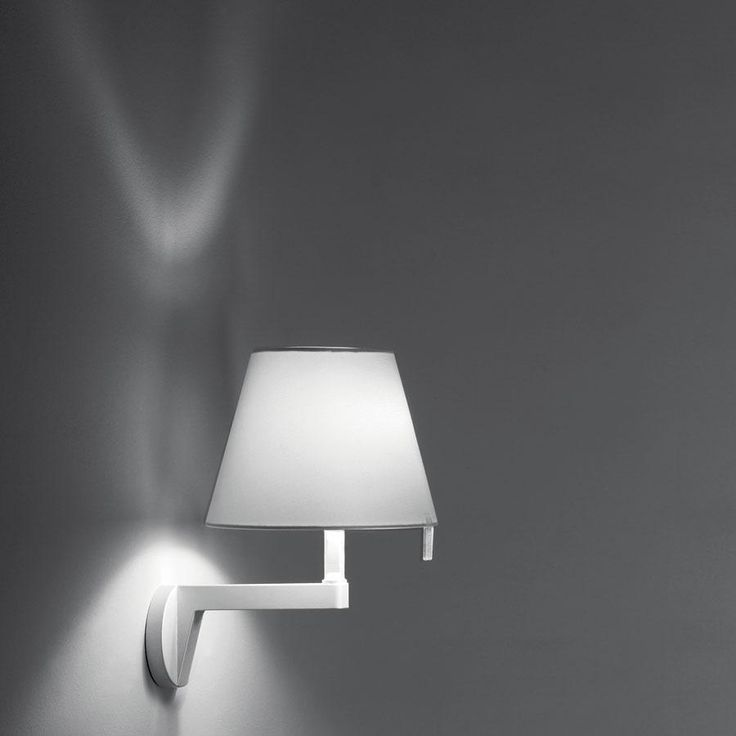 Lampara de mesa de noche De venta en Hilight Artemide - Melampo wall - Alluminium - PRODUCT DATA SHEET
