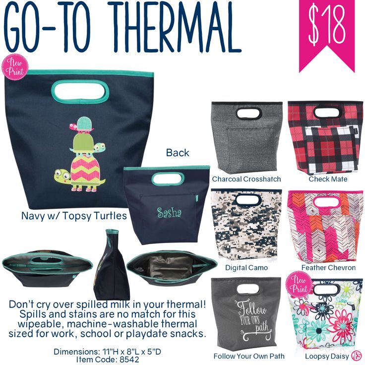 Thirty-One Go-To Thermal - Spring/Summer 2017