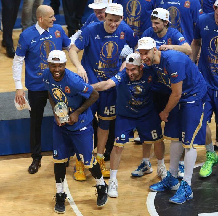 Райз признан MVP Еврокубка 2014-2015