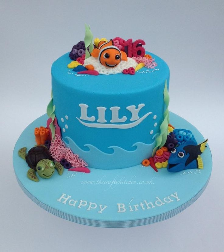 Cake Decorations Nemo : 165 best images about Finding Nemo Cakes on Pinterest ...