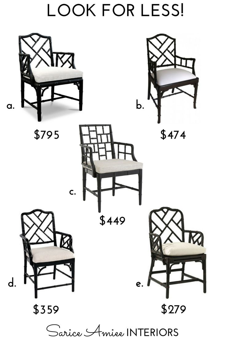 Bamboo chippendale chairs - Iii Chinese Chippendale Chair