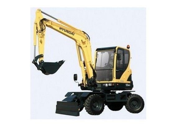 Hyundai R95w 3 Wheel Excavator Service Manual Hyundai 3rd Wheel Excavator