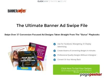 nice Bannerswipes - 37 Conversion Focused Ad Templates