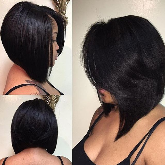 STYLIST FEATURE| Love this #bobcut ✂️styled by #NJStylist @Crowned.By.Jaz❤️ Classic #VoiceOfHair ========================= Go to VoiceOfHair.com ========================= Find hairstyles and hair tips! =========================