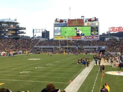 #tickets 3 Three Pittsburgh Steelers Playoff Tickets AFC Divisional Round Sec 125 Row R!! please retweet