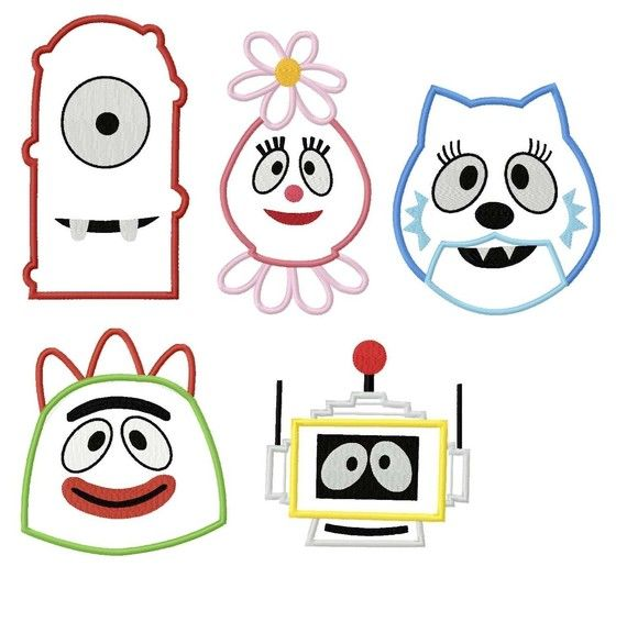 65 best yo gabba gabba images on pinterest | yo gabba gabba, Wedding invitations