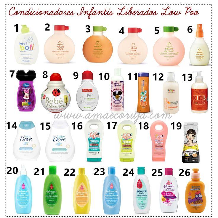 CONDICIONADORES INFANTIS LIBERADOS PARA LOW POO
