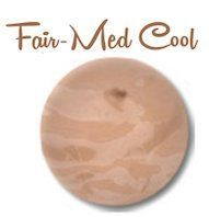 Certified Organic Foundation by LA Minerals  Liquid Natural Makeup Foundation FairMed Cool *** Click image to review more details. (Note:Amazon affiliate link)