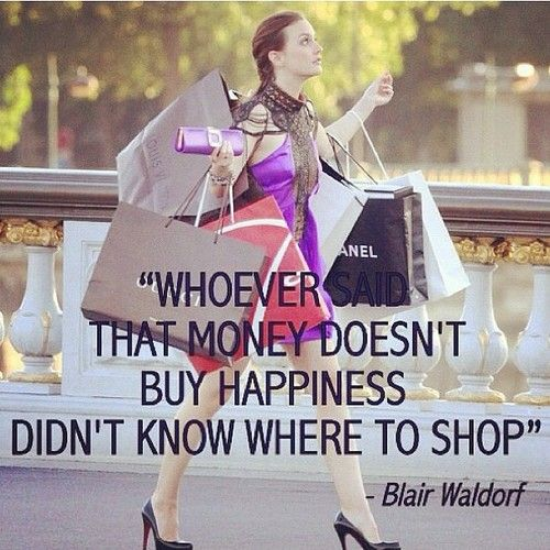 Gossip Girl Blair quote about happiness