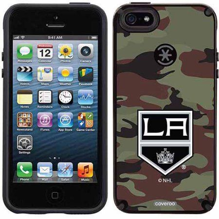 Los Angeles Kings Traditional Camo Design on Apple iPhone 5SE/5s CandyShell Case by Speck