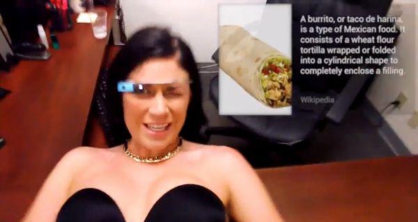 [NSFW] Planquez les gamins : un premier film porno tourné avec Google Glass