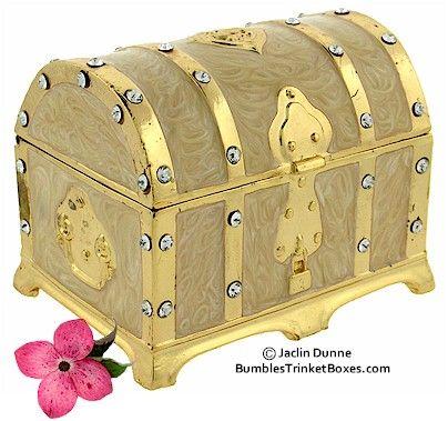 Trinket Box: Musical Treasure Chest Box