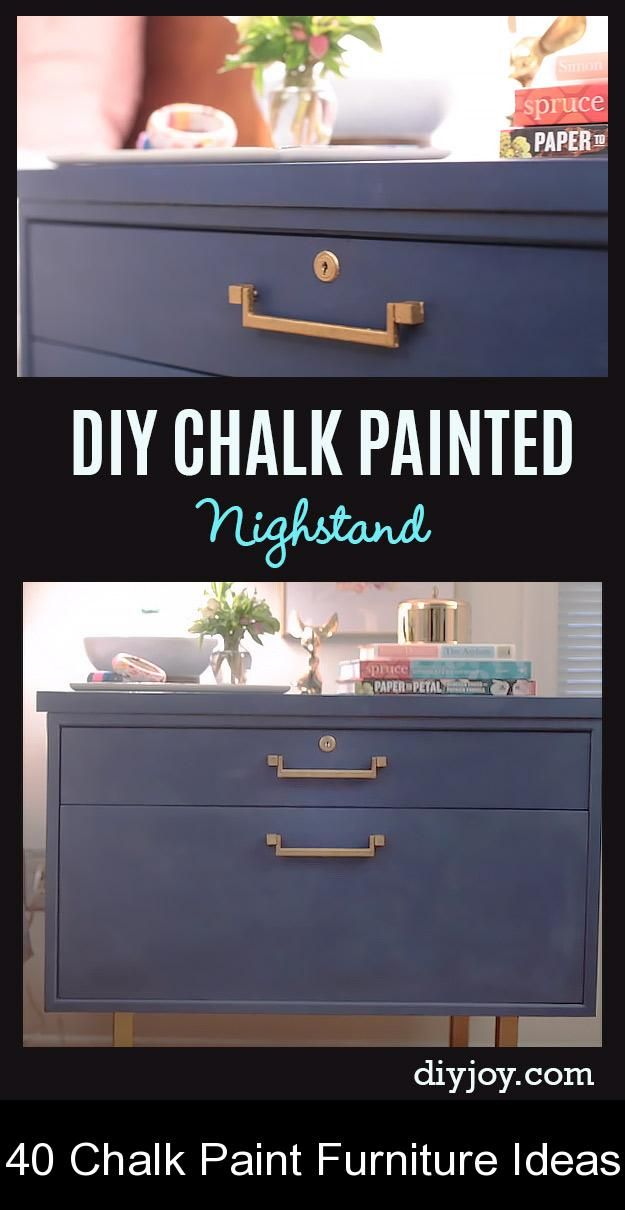 40 Chalk Paint Furniture Ideas Need, Painted Furniture Ideas 2020