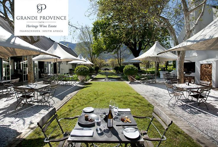 Grande Provence Heritage Wine Estate love to share its heritage and passion for its winemaking with all its guests.