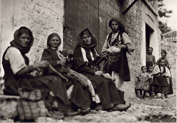 Fred Bouasona great French photographer , lover of Greece took a series of photos portraying the Greece of 19th century