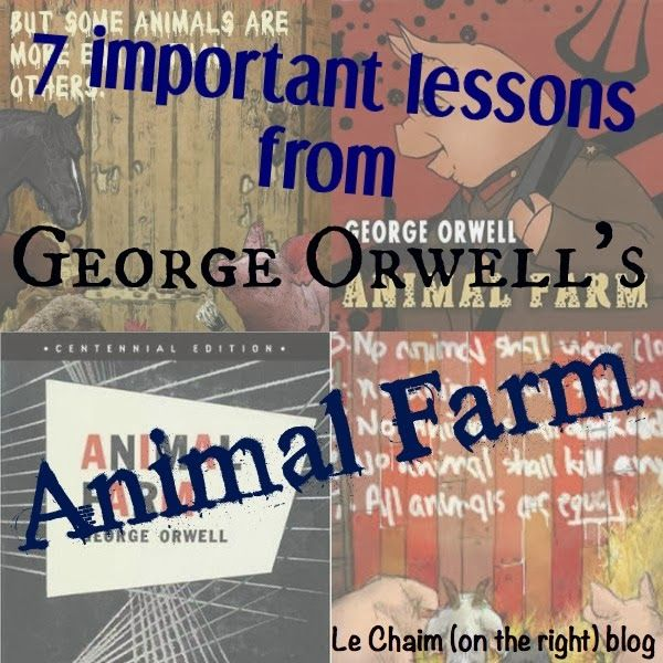 7 Things I Learned From Animal Farm - Le Chaim (on the right)