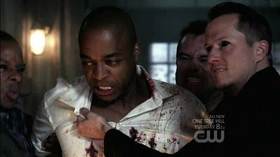 Rick Worthy and Corin Nemec dealing with Family Matters on Supernatural