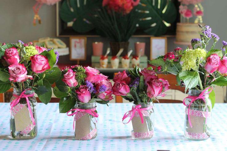 Flamingle / Tropical / Flamingos Ladies Night Party Ideas   Photo 1 of 24