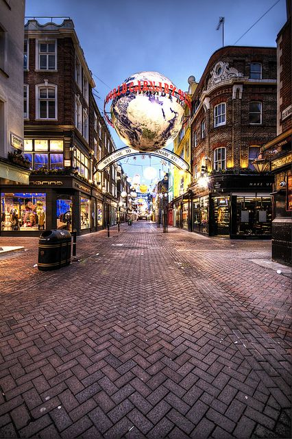 carnaby street london definitely on my list of must see places when - Must See London