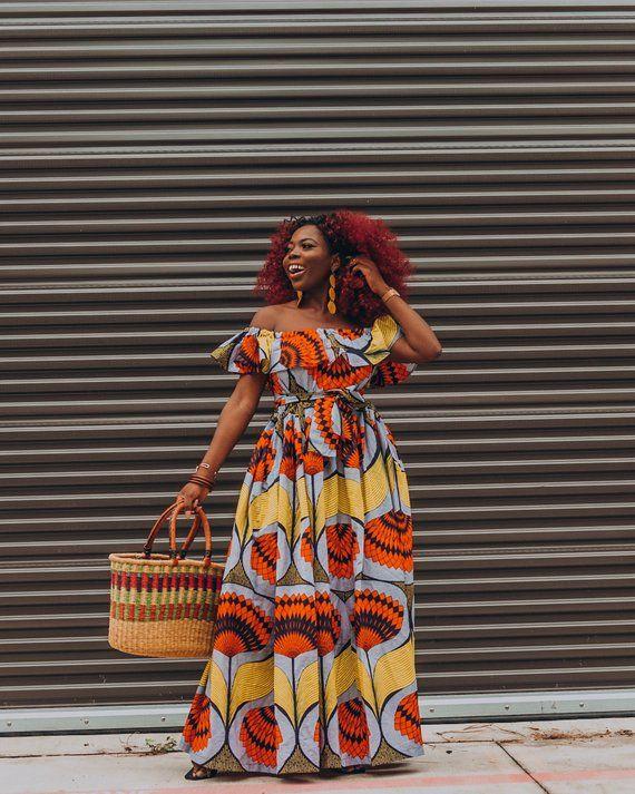 Ankara Dress African Clothing African Dress African Print Etsy African Fashion Women Clothing African Dress African Print Dresses