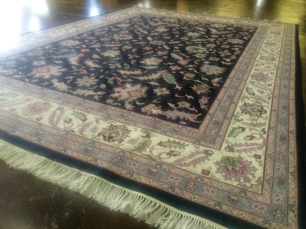 9 X 12 Wool Kashan: #interiordesign #dallas #rugs