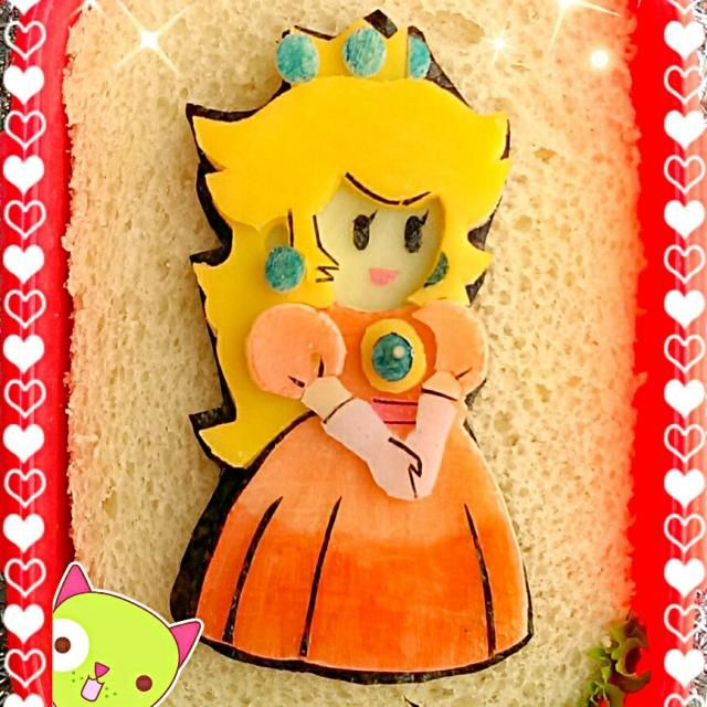レシピとお料理がひらめくSnapDish - 36件のもぐもぐ - Peach Princessピーチ姫キャラ弁 by The Reinharts