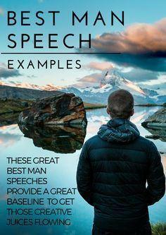 best man speech examples More