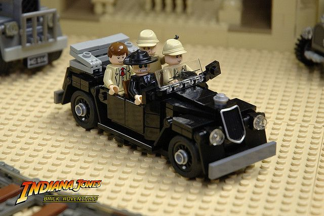 Indiana Jones car