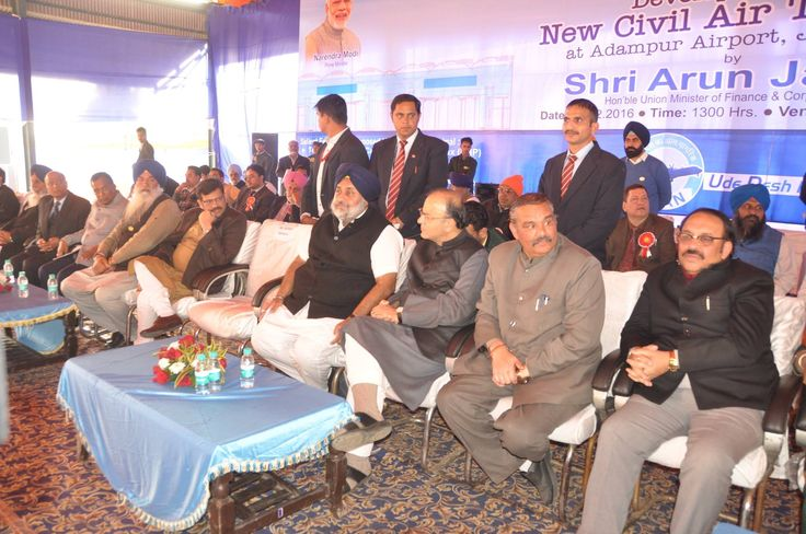 I am thankful to our PM Narendra Modi Ji who has accorded so much priority to Punjab's development. I am grateful to Union Finance Minister Arun Jaitley Ji who did the honour of joining inn for Bhoomi Pujan yesterday. Thanking Union Minister of State for Civil Aviation Jayant Sinha Ji and Union Minister for Social justice and Empowerment Vijay Sampla Ji for gracing the occasion with their presence. #AkaliDal #SukhbirSinghBadal #DevelopingPunjab