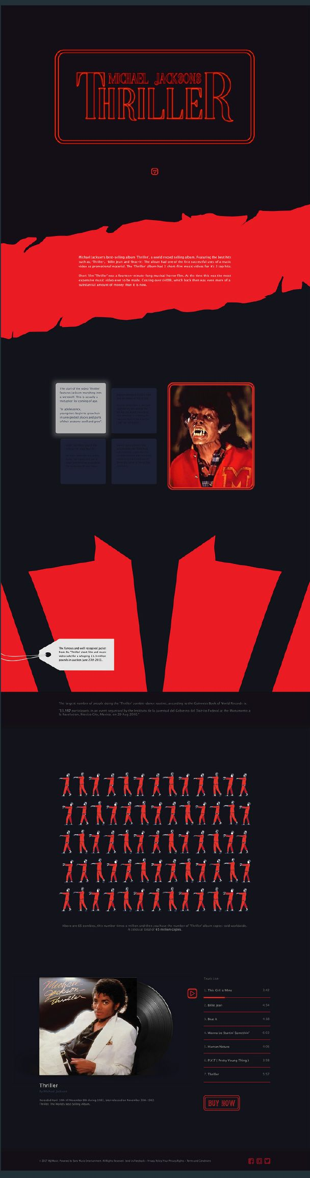Renee Simonini   Michael Jackson - Thriller   website
