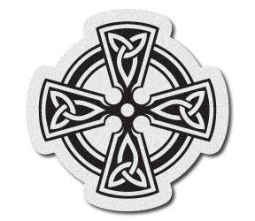 Reflective Celtic Cross