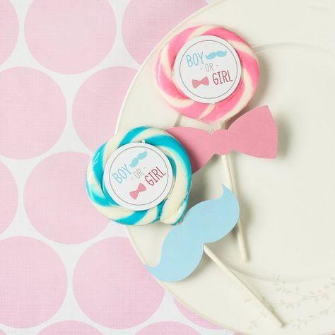 Paletas Dulces Para Baby Shower   Manualidades Para Baby Shower