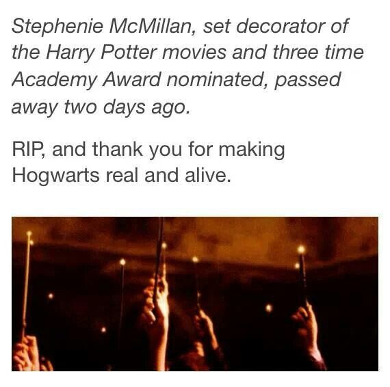 Thank you for all the little things that made the Harry Potter movies magical ✨✨