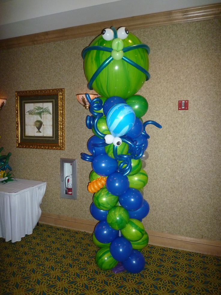 Best balloon columns arches topiaries images on