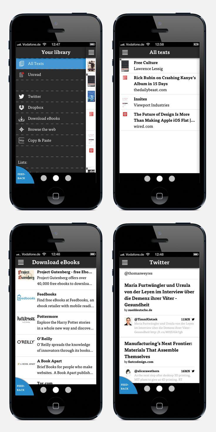 www.dotdotdot.me Library on iPhone