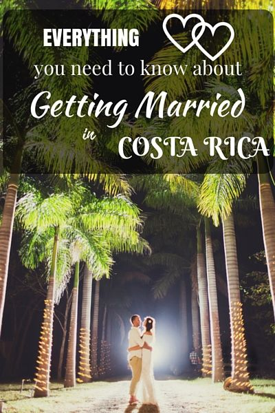 Considering a destination wedding? Why not choose Costa Rica? Here is everything…