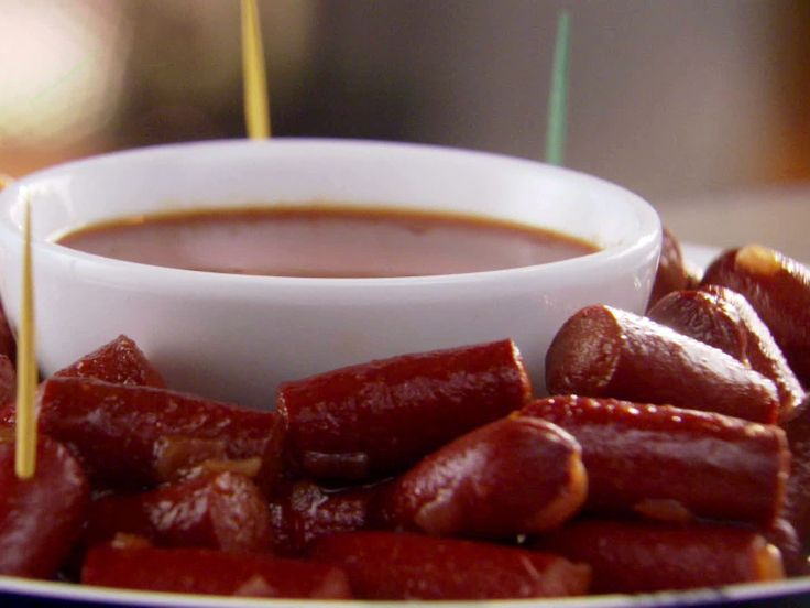 What are some tips for serving Little Smokies in barbecue sauce?