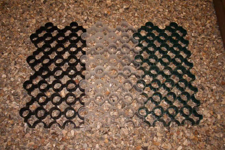 R Pave in various guises is a fabulous ground stabilisation & reinforcement product from Unreal Solutions Ltd: http://www.unrealsolutions.co.uk/Products/Professional-Landscape-Products/Ground-Reinforcement-Systems.html